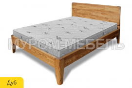 Здесь изображено Кровать Данте из дуба