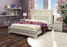 Здесь изображено Кровать Линария-тахта