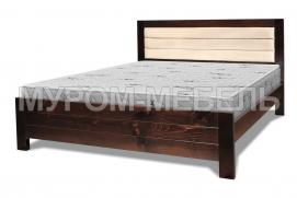 Здесь изображено Кровать Прима из массива