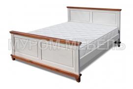 Здесь изображено Односпальная кровать Прованс Браун