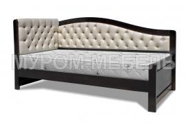 Здесь изображено Кровать Вероника Soft-М от производителя