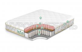 Здесь изображено Матрас Premium Memory Medium Hard