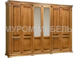 Здесь изображено Шкаф 6-ти створчатый Флоренция