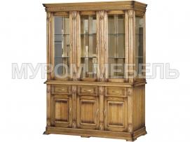 Здесь изображено Шкаф тройной Флоренция-1