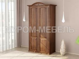 Здесь изображено Шкаф 2-х створчатый Камила