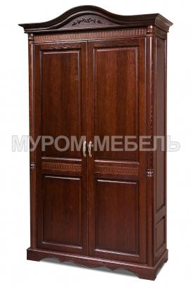 Здесь изображено Шкаф 2-х створчатый Валео