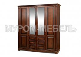 Здесь изображено Шкаф 4-х створчатый Версаль