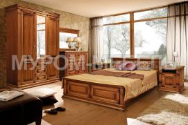 Здесь изображено Спальный гарнитур Флоренция 3