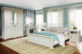 Здесь изображено Спальный гарнитур Флоренция 4