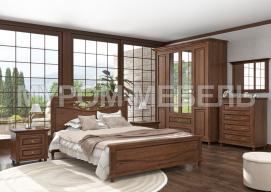 Здесь изображено Спальный гарнитур Мелиса 2