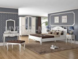 Здесь изображено Спальный гарнитур Прованс 2