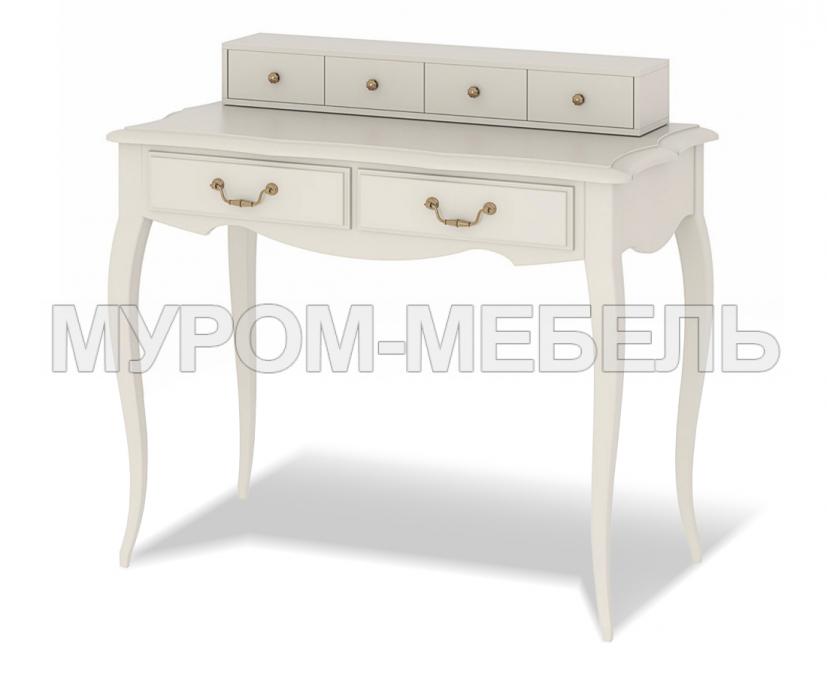 Здесь изображено Дамский столик Прованс с надстройкой