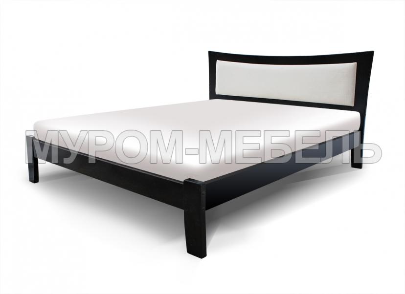 Здесь изображено Кровать Аврора с мягкой вставкой