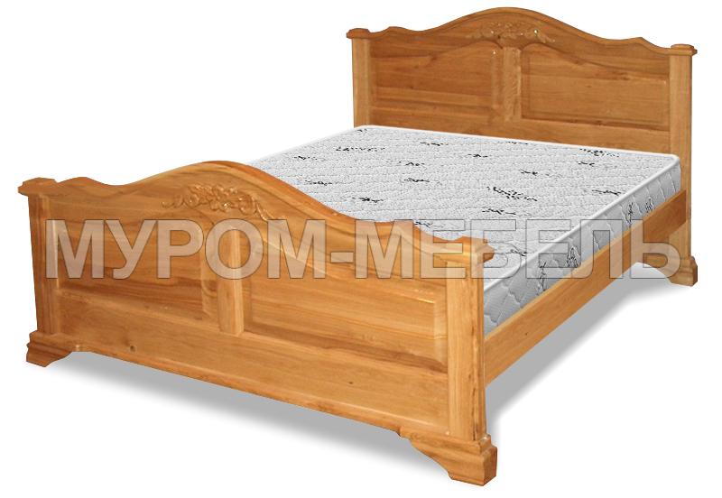 Здесь изображено Кровать Экстра массив мод 1