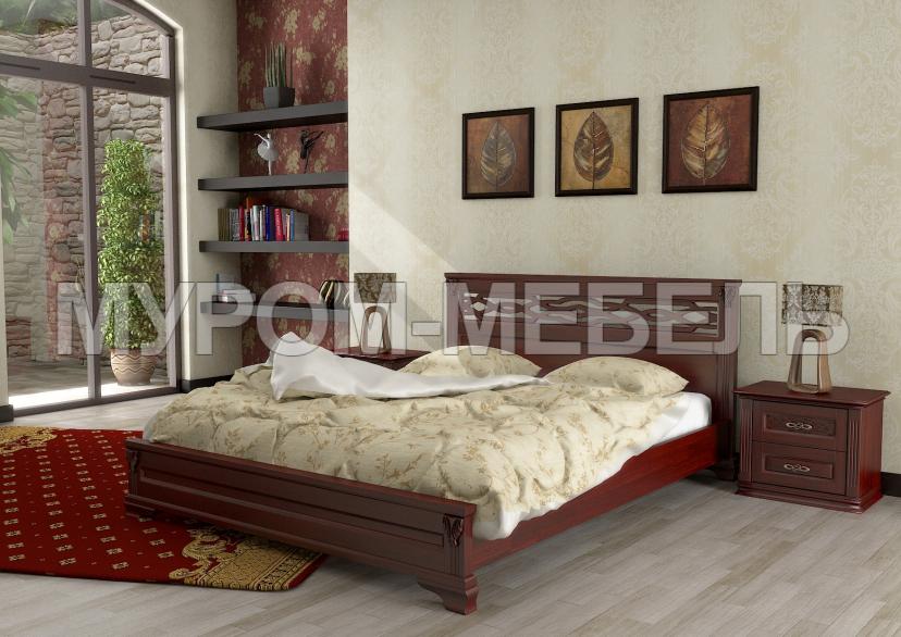 Здесь изображено Кровать Лина