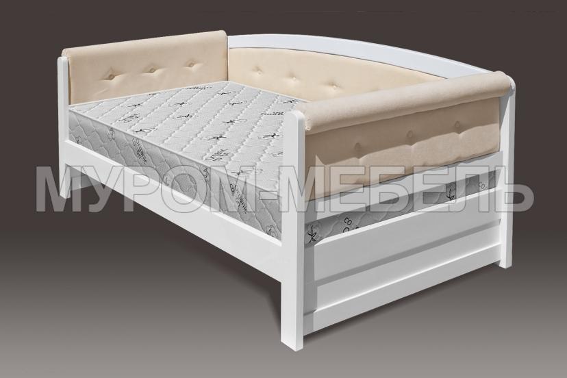 Здесь изображено Кровать Верона Soft