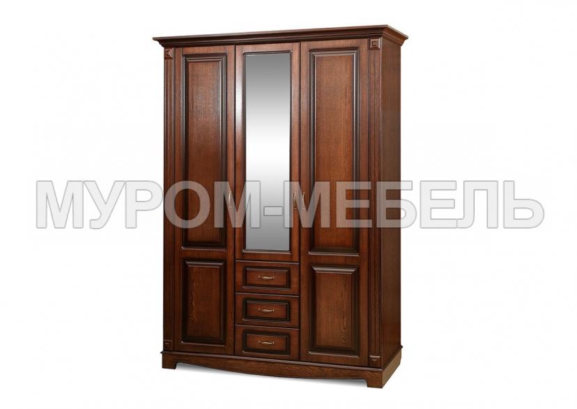 Здесь изображено Шкаф 3-х створчатый Версаль