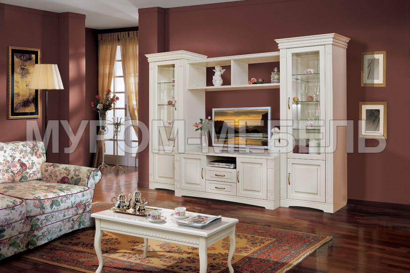 Здесь изображено Шкаф для гостиной Флоренция