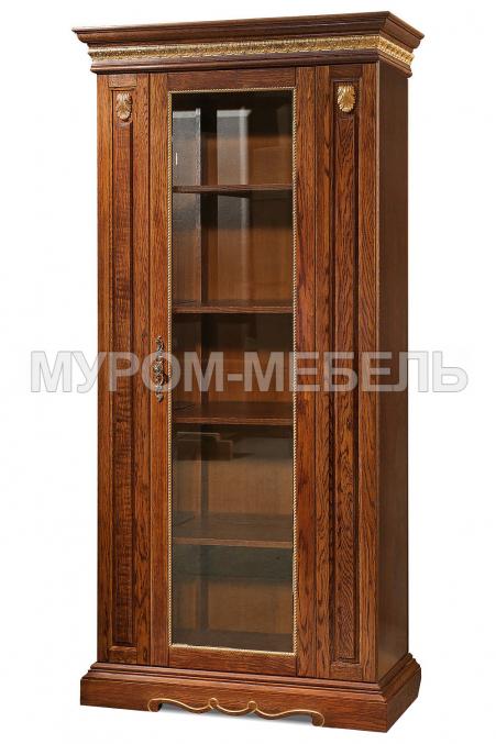 Здесь изображено Шкаф книжный Милано 1-створчатый