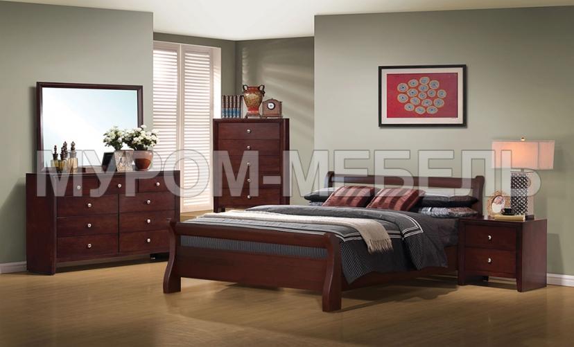 Здесь изображено Спальный комплект Муза