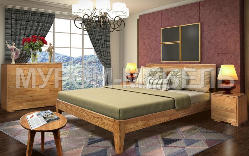Здесь изображено Спальный гарнитур Данте