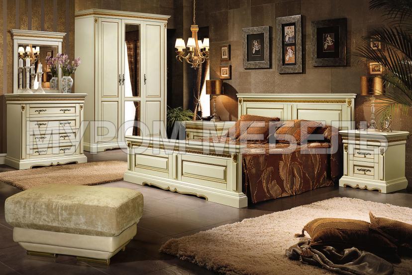 Здесь изображено Спальный гарнитур Милано 1