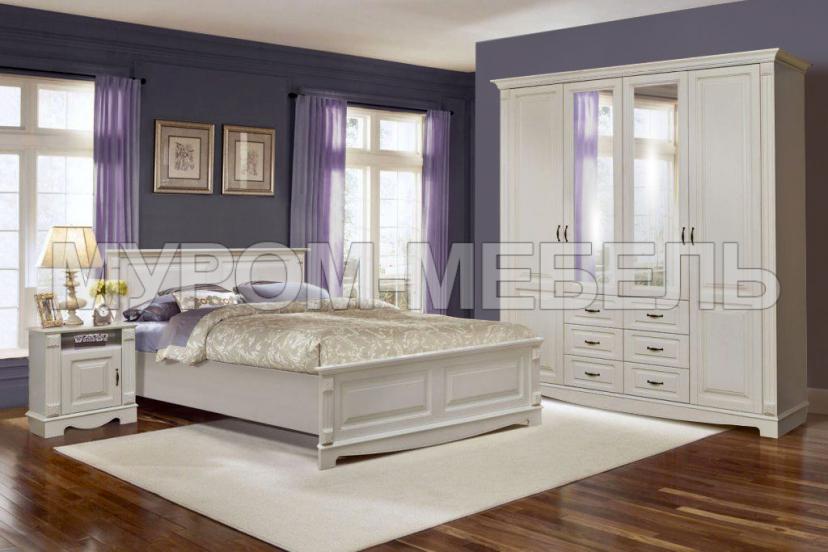 Здесь изображено Спальный гарнитур Версаль 2