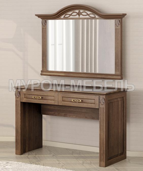Здесь изображено Туалетный столик Камила с зеркалом