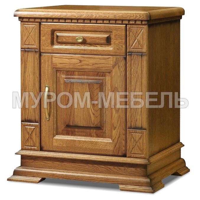 Здесь изображено Тумба Флоренция ящик дверка