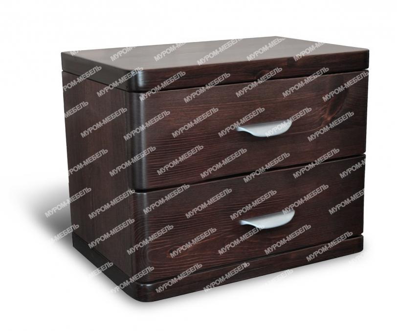 Здесь изображено Тумба 2 ящика из серии
