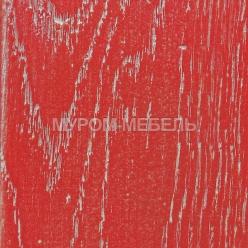 Красная эмаль серебро