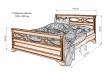 Здесь изображено Кровать Лира DUO