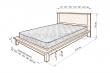 Здесь изображено Кровать Ева
