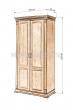 Здесь изображено Шкаф 2-х створчатый Флоренция-1 (полка, штанга)