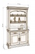 Здесь изображено Шкаф комбинированный Флоренция