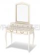 Здесь изображено Дамский столик Прованс с надстройкой и зеркалом