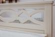 Здесь изображено Кровать Лира (белая эмаль)