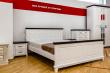 Здесь изображено Кровать Прованс Браун (белая эмаль)
