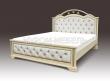 Здесь изображено Кровать Амелия с мягкой вставкой