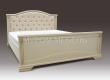 Здесь изображено Кровать Кливия с мягкой спинкой