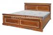 Здесь изображено Кровать Милано из березы
