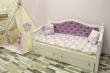 Здесь изображено Кровать Милано детская