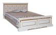 Здесь изображено Кровать Милано с каретной стяжкой