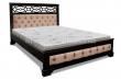 Здесь изображено Кровать Пальмира с мягкой вcтавкой