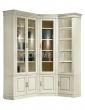 Здесь изображено Шкаф книжный угловой Флоренция