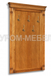 Здесь изображено Вешалка настенная Флоренция 5 крючков