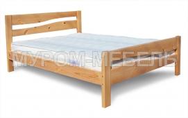Здесь изображено Кровать Карина-1 из массива