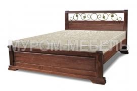 Здесь изображено Кровать Эстель (ковка) с ортопедическим основанием