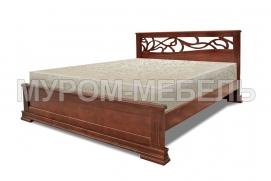 Здесь изображено Кровать Лирос с ортопедическим основанием