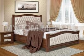Здесь изображено Кровать Соната 2 с ортопедическим основанием